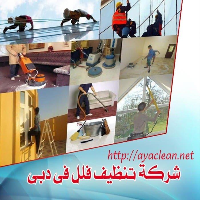 شركة تنظيف الفلل بدبى  0569057991